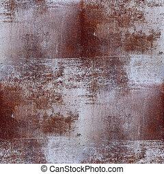 brunatne tło, tapeta, seamless, struktura, żelazo, rdza