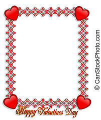 brzeg, valentines dzień, serca