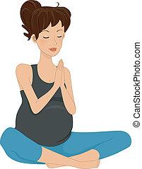 brzemienność, yoga