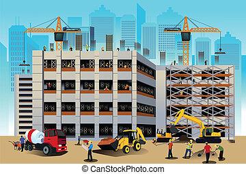 budowa zbudowanie, scena