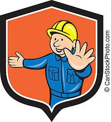 budowniczy, siła robocza, stolarz, rysunek, poza