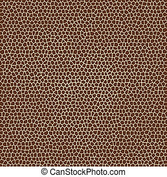 budowy, żyrafa, wektor, zwierzęca skóra