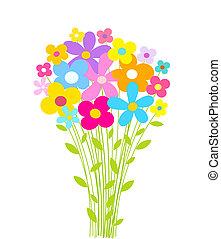 bukiet, kwiaty