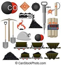 bunkrować górnictwo, obiekty, przemysł