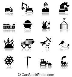 bunkrować przemysł, ikony