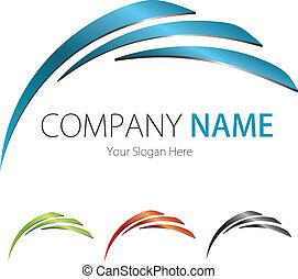 (business), towarzystwo, projektować, logo