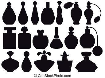 butelki, perfumy