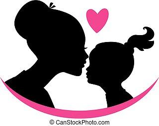 córka, miłość, mamusia