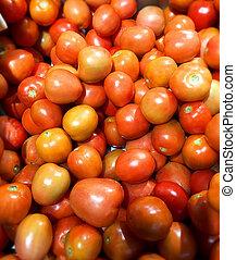 c, -, witamina, źródło, biotyna, doskonały, pomidory