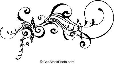 caligraphic, ozdoba