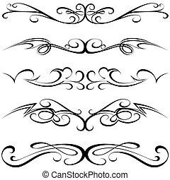 calligraphic, capstrzyk