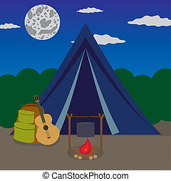 camping., noc