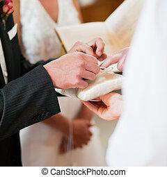 ceremonia, wpływy, szambelan królewski, dzwoni, ślub