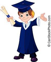 chłopiec, absolwenci