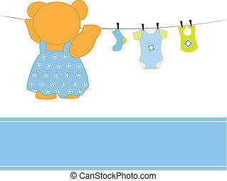 chłopiec niemowlęcia, odzież