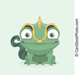 chameleon., sprytny