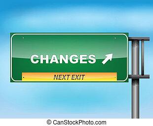 """changes"", tekst, szosa znaczą"