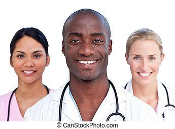 charismatic, medyczny zaprzęg, portret