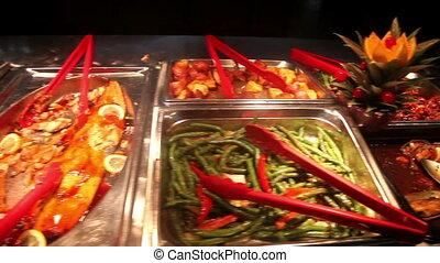 chińczyk, bufet