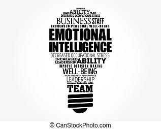chmura, emocjonalny, bulwa, inteligencja, lekki, słowo