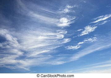 chmura pierzasta, clouds.