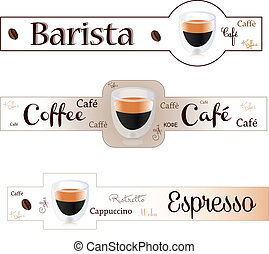 chorągiew, espresso