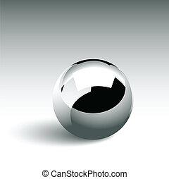 chrom, piłka