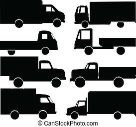 ciężarówki, zbiór
