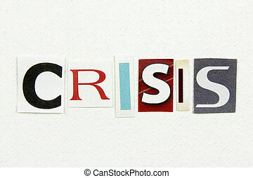 cięty, wypowiedzieć papier, gazeta, biały, kryzys