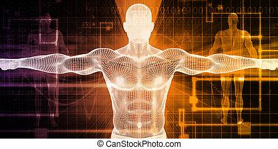 ciało, medyczna technologia
