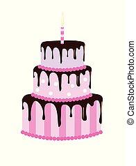 ciastko, cielna, urodziny