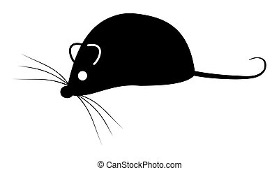 cień, mysz
