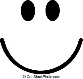 cielna, smiley, uśmiech