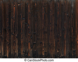 ciemny, drewno, stary, struktura, tło