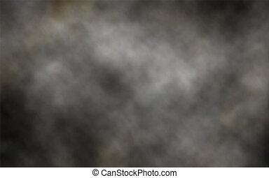 ciemny, dym, tło