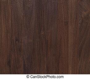 ciemny, mahoń, drewno, tło, struktura