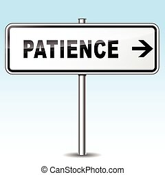 cierpliwość, znak