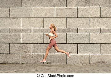 cieszący się, forward., fitness., trzym!ć, trening, towary, sportsmenka, mój, sport, outdoors., activities., mając na sobie, terapia, ruchomy, sexy, kazania, pasaż, store., sport., wyścigi, fizyczny