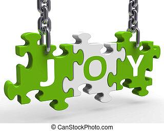 cieszyć się, radość, zagadka, radosny, zabawa, radosny, widać