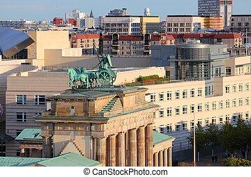 cityscape, berlin, niemcy