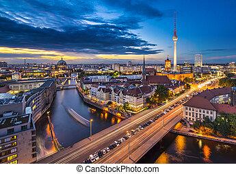 cityscape, berlin