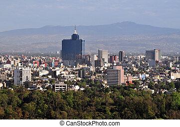cityscape, miasto, meksyk