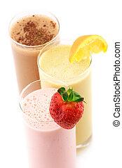 cocktaili, białko, różny
