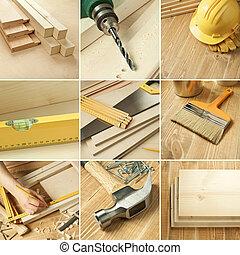 collage, narzędzia