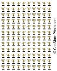 collage, trophys