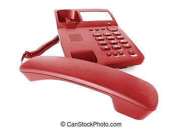 communications., telefon, biuro