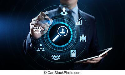 concept., handlowy, analytics, oszacowanie, miara, ocena, technologia