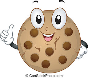 cookie, maskotka
