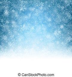 crystallic, boże narodzenie, tło, snowflakes.