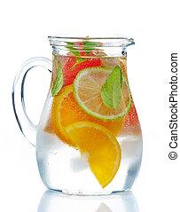cytrus, przeziębienie, napój owocu
